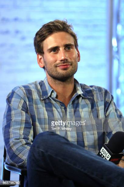 Actor Edward Holcroft from BBC Drama 'Gunpowder' during a panel discussion at BUILD London on October 20 2017 in London England