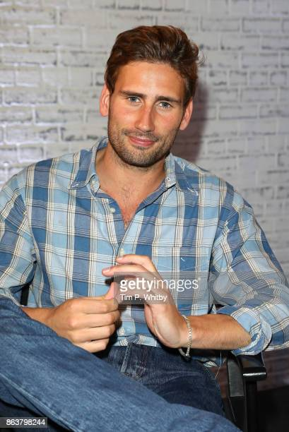 Actor Edward Holcroft from BBC Drama 'Gunpowder' poses for a photo during a panel discussion at BUILD London on October 20 2017 in London England