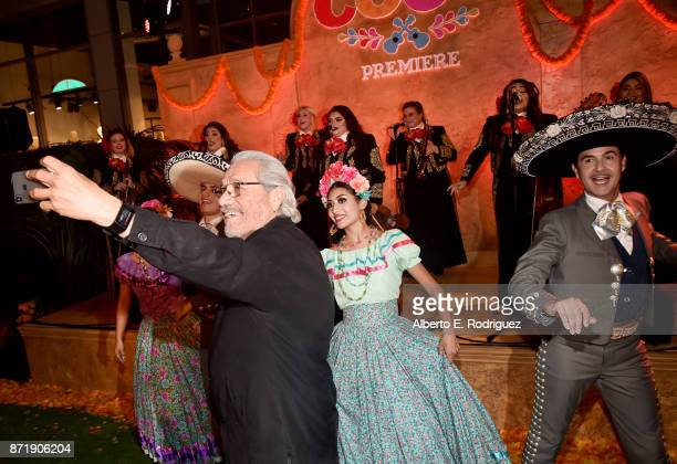 Actor Edward James Olmos at the US Premiere of DisneyPixar's 'Coco' at the El Capitan Theatre on November 8 in Hollywood California