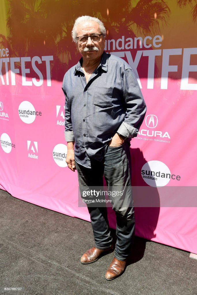 Actor Edward James Olmos attends 2017 Sundance NEXT FEST at The Theater at The Ace Hotel on August 12, 2017 in Los Angeles, California.