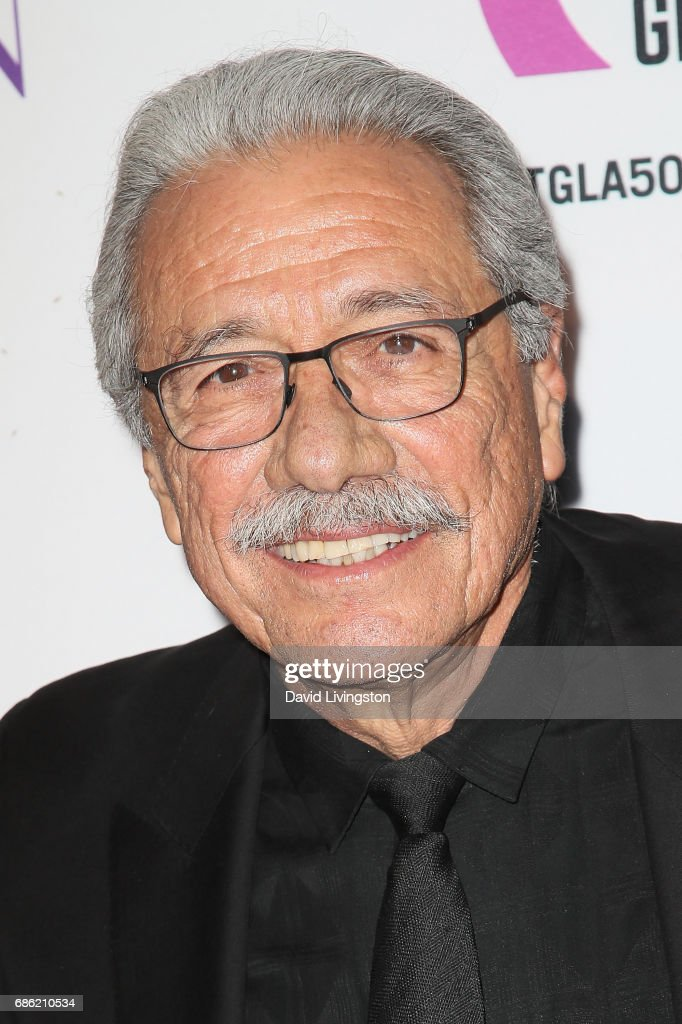 Actor Edward James Olmos attends the Center Theatre Group's 50th Anniversary Celebration at the Ahmanson Theatre on May 20, 2017 in Los Angeles, California.