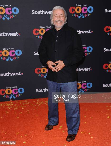 Actor Edward James Olmos attends the premiere of Coco at El Capitan Theatre on November 8 2017 in Los Angeles California