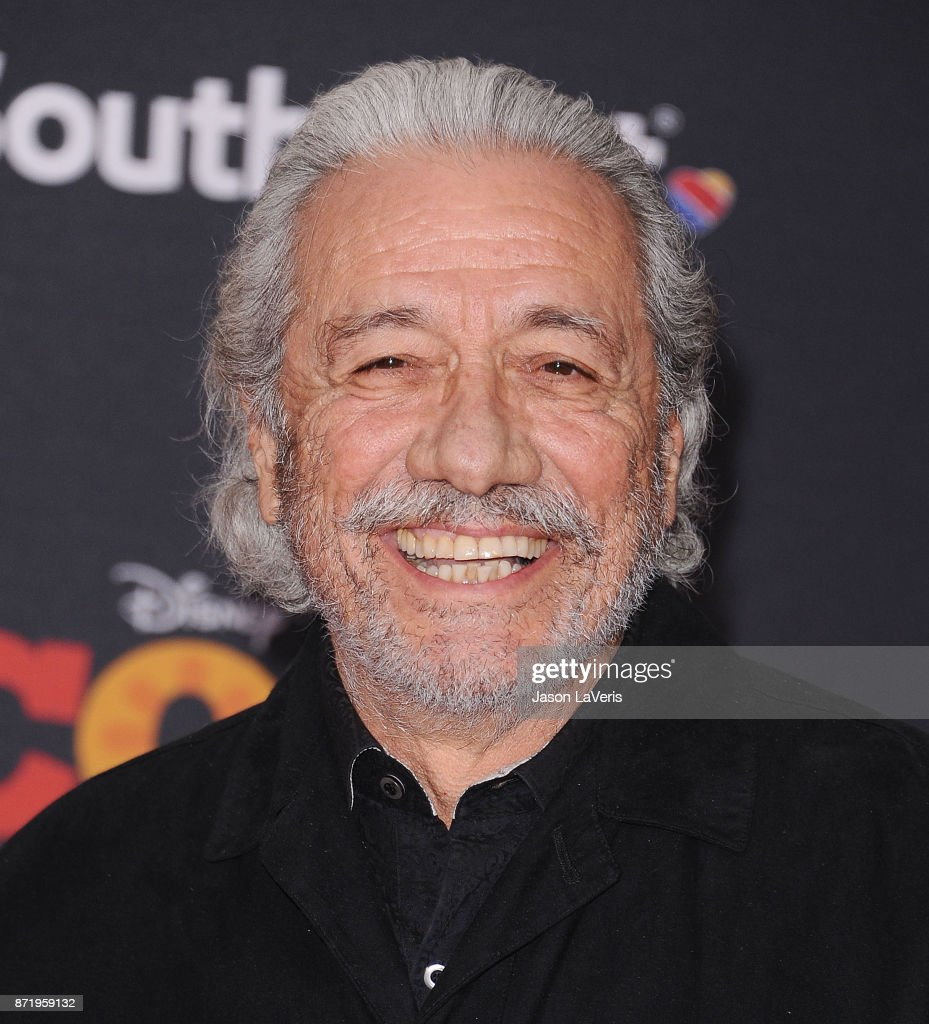 Actor Edward James Olmos attends the premiere of 'Coco' at El Capitan Theatre on November 8, 2017 in Los Angeles, California.
