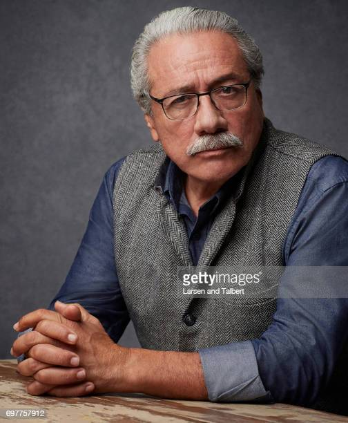 Actor Edward James Olmos is photographed for Entertainment Weekly Magazine on June 9 2017 in Austin Texas
