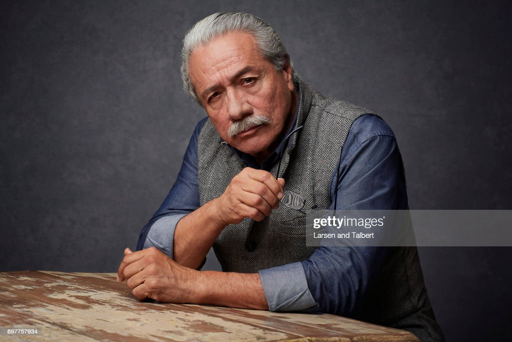 Actor Edward James Olmos is photographed for Entertainment Weekly Magazine on June 9, 2017 in Austin, Texas.