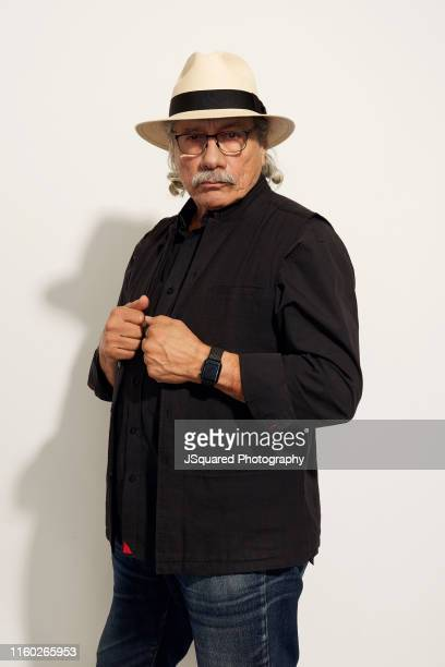 Actor Edward James Olmos of of FX's 'Mayans M.C.' poses for a portrait during the 2019 Summer TCA Portrait Studio at The Beverly Hilton Hotel on...