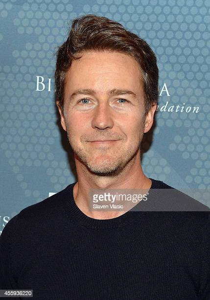 Actor Edward Norton attends the 2014 Social Good Summit at 92Y on September 22 2014 in New York City