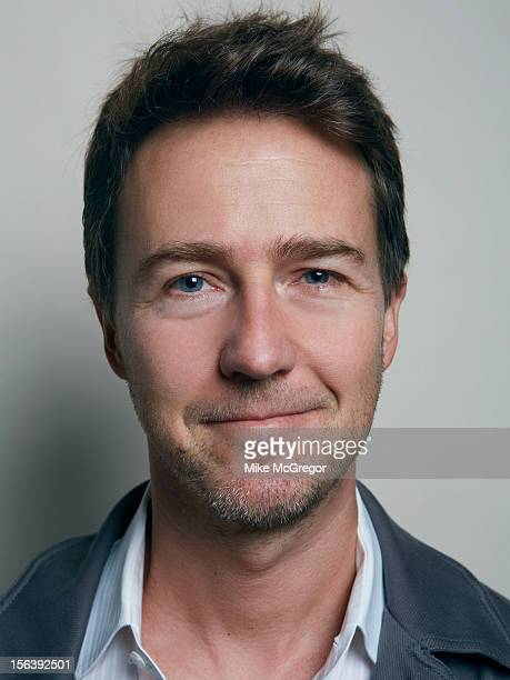 Actor Edward Norton is photographed for Self Assignment on September 11 2012 in New York City