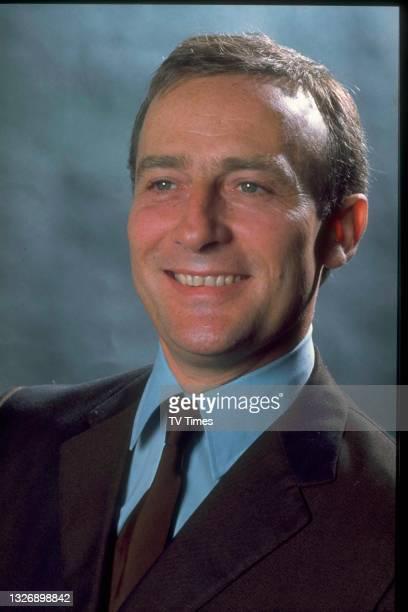 Actor Edward Woodward, circa 1969.