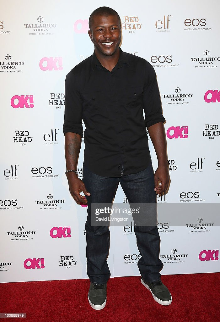 Actor Edwin Hodge attends the OK! Magazine 'So Sexy' LA party at SkyBar at the Mondrian Los Angeles on April 17, 2013 in West Hollywood, California.