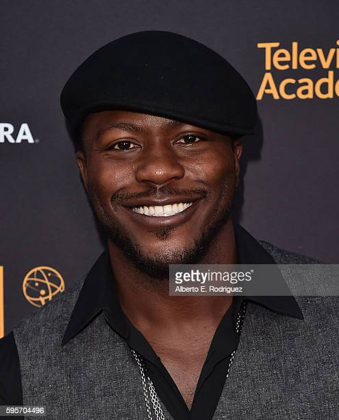Actor Edwin Hodge attends the Television Academy And SAGAFTRA's 4th Annual Dynamic and Diverse Celebration at The Saban Media Center on August 25...