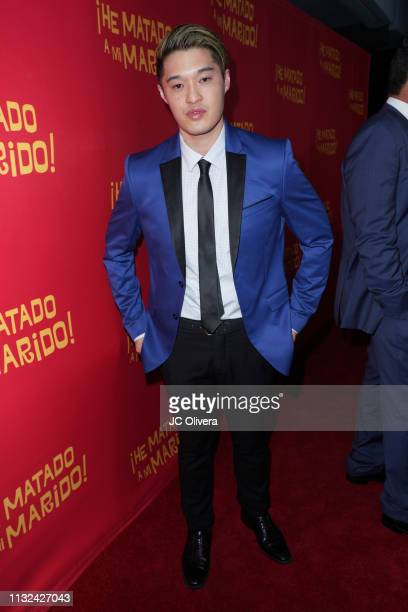 Actor Edwin Kho attends 'HE MATADO A MI MARIDO' Los Angeles Premiere at Harmony Gold Theatre on February 26 2019 in Los Angeles California
