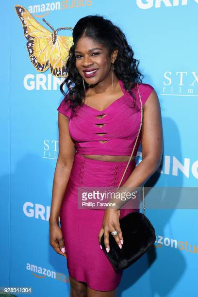 Actor Edwina Findley attends the world premiere of 'Gringo' from Amazon Studios and STX Films at Regal LA Live Stadium 14 on March 6 2018 in Los...