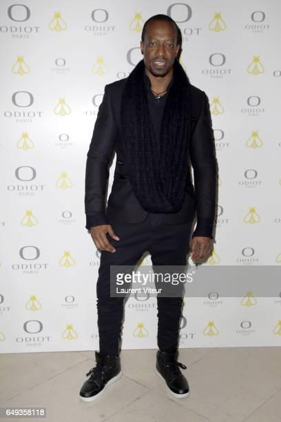 Actor Eebra Toore attends Dessiner L'Or et L'Argent Odiot Orfevre Exhibition Launch at Musee Des Arts Decoratifs on March 7 2017 in Paris France