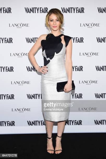 Actor Efrat Dor attends Vanity Fair and Lancome Toast to The Hollywood Issue at Chateau Marmont on February 23 2017 in Los Angeles California