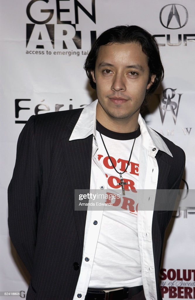 Actor Efren Ramirez arrives at the Gen-Art Fall 2005 LA Fashion Week Kick Off Party on March 14, 2005 at the MOCA Geffen Contemporary Museum in Los Angeles, California.