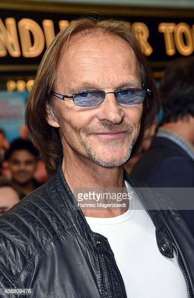 Actor Eisi Gulp attends 'Winterkartoffelknoedel' Premiere In Munich on October 7 2014 in Munich Germany