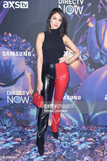 Actor Eiza Gonzalez attends the 2018 DIRECTV NOW Super Saturday Night Concert at NOMADIC LIVE! at The Armory on February 3, 2018 in Minneapolis,...