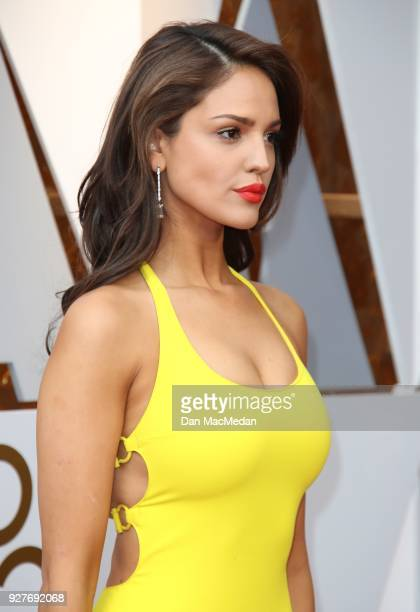 Actor Eiza Gonzalez attends the 90th Annual Academy Awards at Hollywood Highland Center on March 4 2018 in Hollywood California