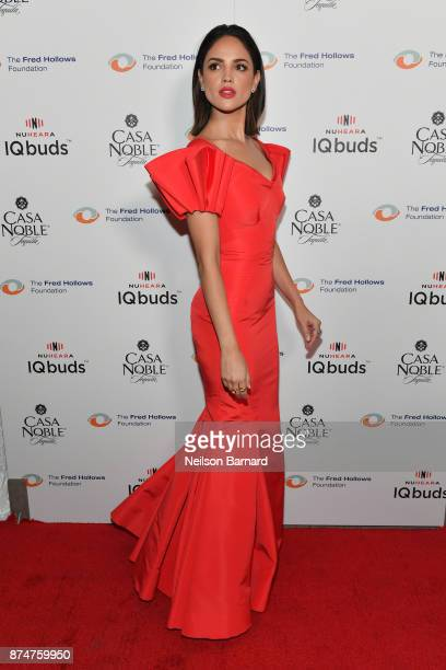 Actor Eiza Gonzalez attends the Inaugural Los Angeles Gala Dinner in support of The Fred Hollows Foundation presented by Joel Edgerton at DREAM...