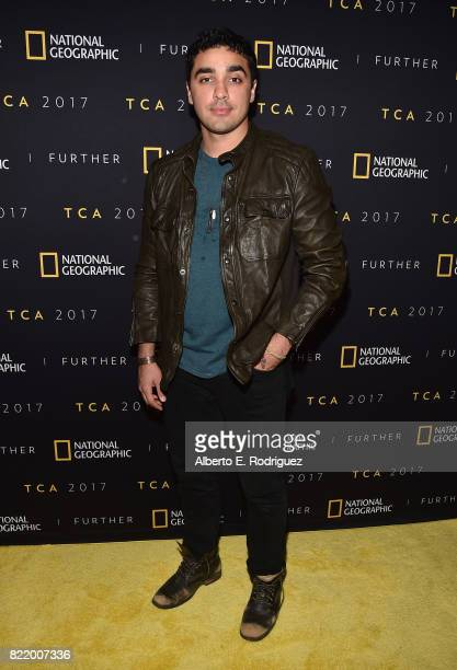 Actor EJ Bonilla attends the 2017 Summer TCA Tour National Geographic Party at The Waldorf Astoria Beverly Hills on July 24 2017 in Beverly Hills...