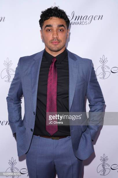 Actor EJ Bonilla attends the 33rd Annual Imagen Awards at JW Marriott Los Angeles at LA LIVE on August 25 2018 in Los Angeles California