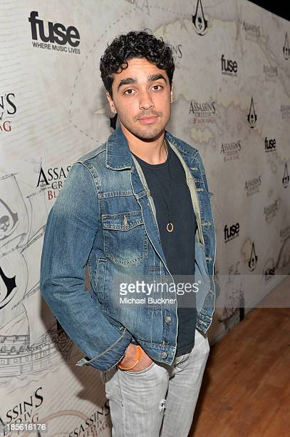 Actor EJ Bonilla attends the Assasin's Creed IV Black Flag Launch Party at Greystone Manor Supperclub on October 22 2013 in West Hollywood California