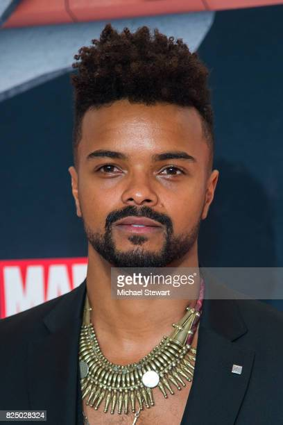 Actor Eka Darville attends the 'Marvel's The Defenders' New York premiere at Tribeca Performing Arts Center on July 31 2017 in New York City
