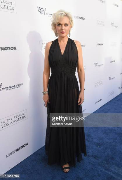 Actor Elaine Hendrix at The Humane Society of the United States' To the Rescue Los Angeles Gala at Paramount Studios on April 22, 2017 in Hollywood,...