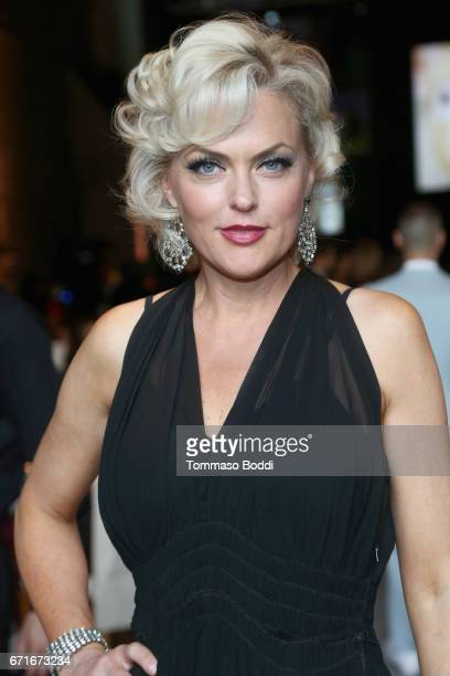 Actor Elaine Hendrix at The Humane Society of the United States' To the Rescue Los Angeles Gala at Paramount Studios on April 22 2017 in Hollywood...