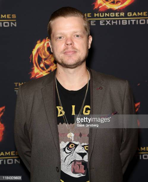Actor Elden Henson attends The Hunger Games: The Exhibition grand opening at MGM Grand Hotel & Casino on June 06, 2019 in Las Vegas, Nevada.