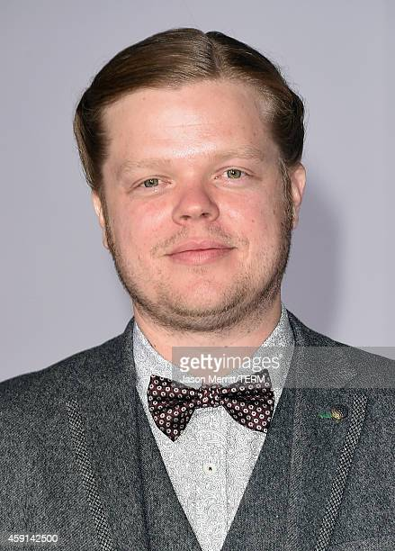 """Actor Elden Henson attends the Premiere of Lionsgate's """"The Hunger Games: Mockingjay - Part 1"""" at Nokia Theatre L.A. Live on November 17, 2014 in Los..."""