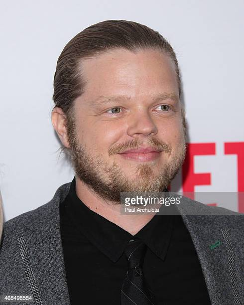 """Actor Elden Henson attends the premiere of """"Marvel's Daredevil"""" at Regal Cinemas L.A. Live on April 2, 2015 in Los Angeles, California."""