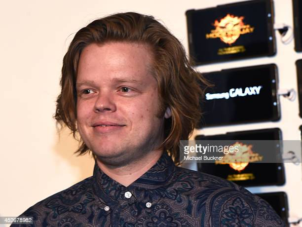 Actor Elden Henson greets fans at the Capitol Gallery located in the Samsung Galaxy Experience during Comic-Con International 2014 on July 25, 2014...