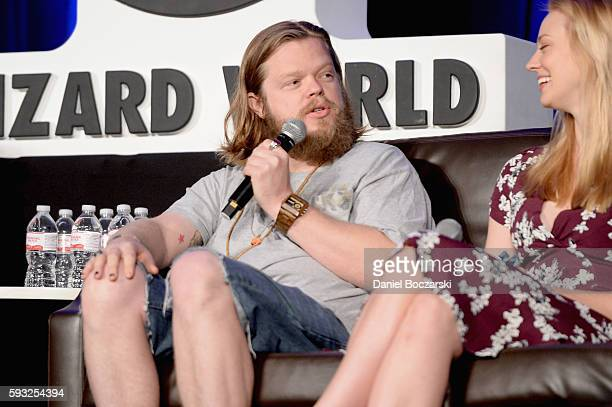 Actor Elden Henson onstage during Wizard World Comic Con Chicago 2016 Day 4 at Donald E Stephens Convention Center on August 21 2016 in Rosemont...