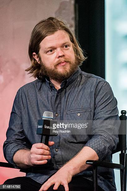 Actor Elden Henson speaks AOL Build speakers series about the show Marvel's Daredevil at AOL Studios on March 11, 2016 in New York City.