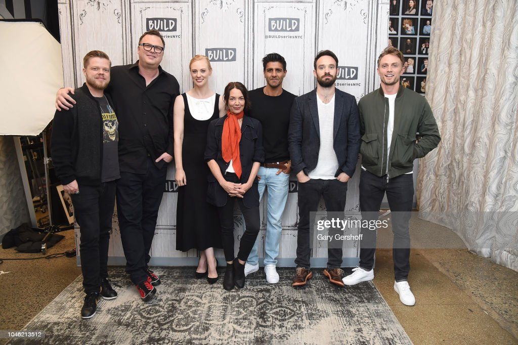 Celebrities Visit Build - October 5, 2018 : Foto jornalística