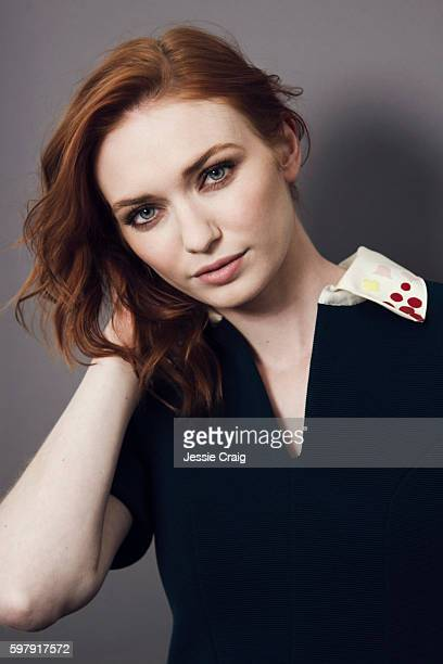 Actor Eleanor Tomlinson is photographed for The Picture Journal on July 22 2016 in London England