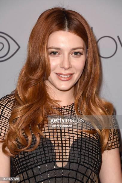 Actor Elena Satine attends 19th Annual PostGolden Globes Party hosted by Warner Bros Pictures and InStyle at The Beverly Hilton Hotel on January 7...