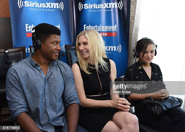 Actor Eli Goree and actresses Elizabeth Mitchell and Zelda Williams attend SiriusXM's Entertainment Weekly Radio Channel Broadcasts From ComicCon...