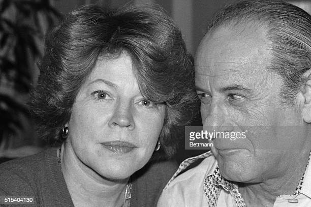 Actor Eli Wallach and his wife actress Anne Jackson relax in their New York apartment recently They work together often 'I like it when we work...
