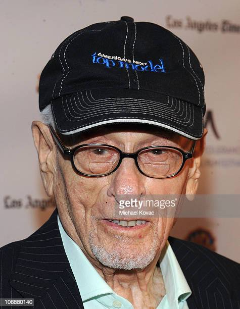 Actor Eli Wallach arrives at the Inaugural Museum Of Tolerance International Film Festival Gala honoring Clint Eastwood at Museum Of Tolerance on...