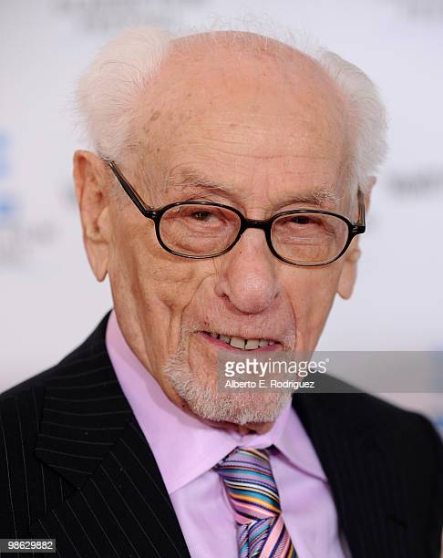 """Actor Eli Wallach arrives at the TCM Classic Film Festival's gala opening night world premiere of the newly restored film """"A Star Is Born"""" at..."""