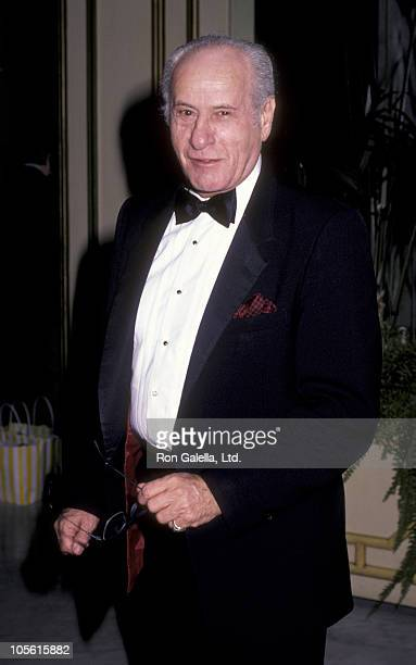 Actor Eli Wallach attends Second Annual American Cinema Awards on November 22 1985 at the Beverly Wilshire Hotel in Beverly Hills California
