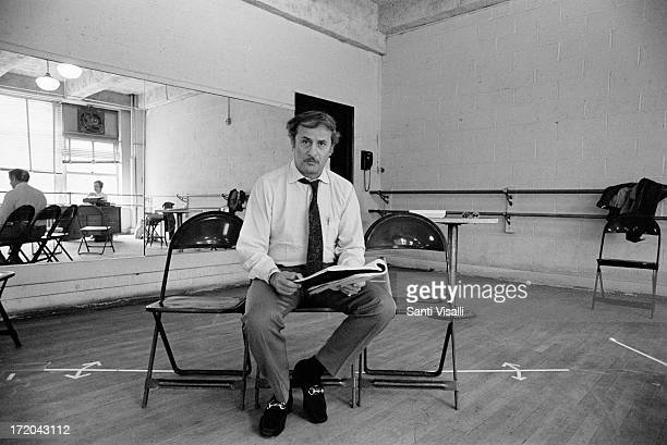 Actor Eli Wallach rehearsing on May 17,1971 in New York, New York.