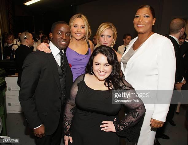 Actor Elijah Kelley, Actress Amanda Bynes, Actress Brittany Snow, Actress Nikki Blonsky and Actress Queen Latifah inside at the 13th ANNUAL CRITICS'...