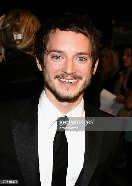 Actor Elijah Wood arrives at the AFI FEST presented by Audi opening night gala of Bobby at the Grauman's Chinese Theatre on November 1 2006 in...