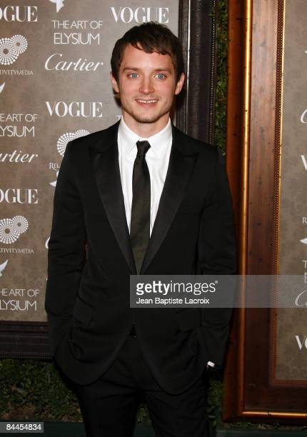 Actor Elijah Wood arrives at the Art of Elysium 2nd Annual Heaven Gala held at Vibiana on January 10, 2009 in Los Angeles, California.