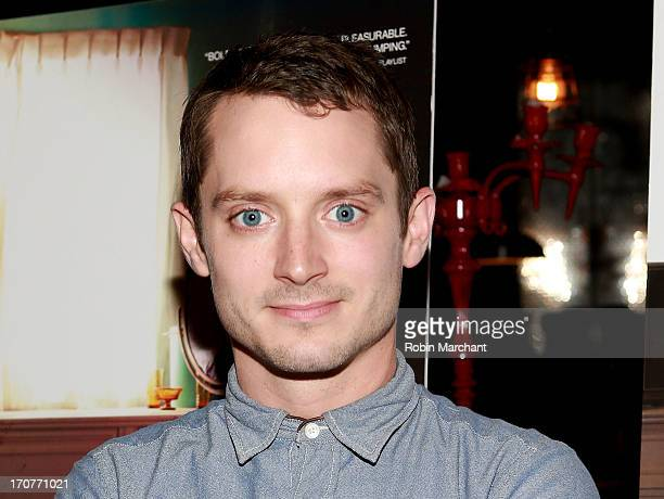 Actor Elijah Wood attends 'Maniac' New York Screening at Time Scare on June 17 2013 in New York City