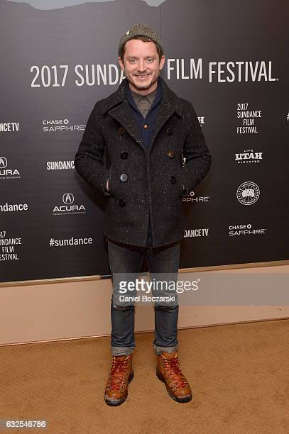 Actor Elijah Wood attends the '78/52' Premiere at Egyptian Theatre on January 23 2017 in Park City Utah
